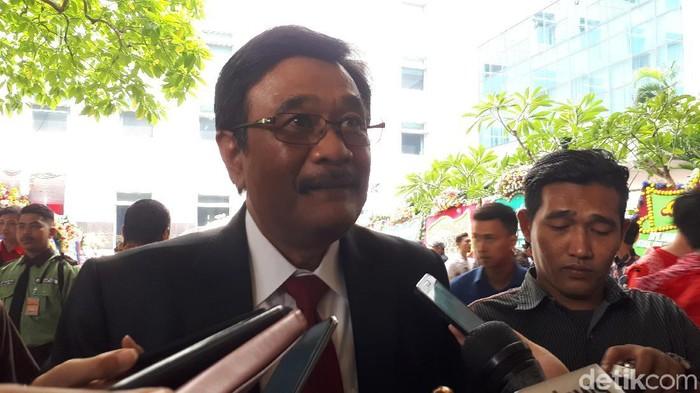 Djarot Saiful Hidayat (Dwi Andayani/detikcom)