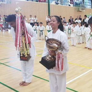 Tampil sebagai Debutan di Japan Open, Karateka Cicalengka Juara