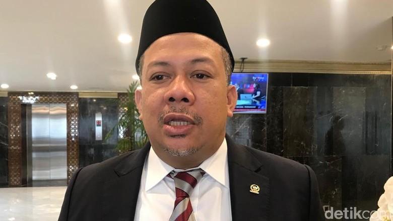 Baru Disahkan UU KPK Mau Digugat ke MK, Fahri Hamzah: Tak Masalah