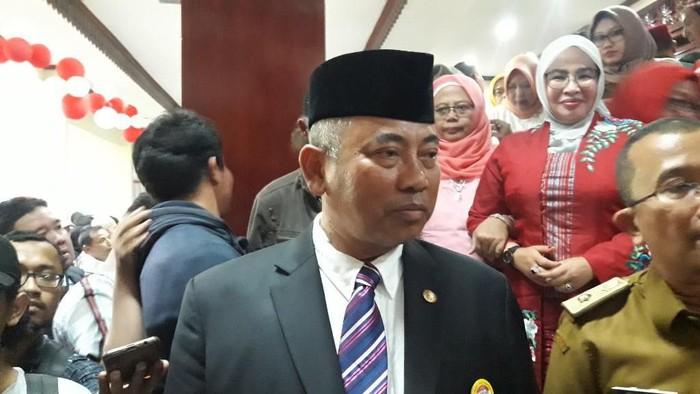 Wali Kota Bekasi Rahmat Effendi Hadiri Pelantikan Anggota DPR Periode 2019-2024