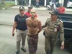 Ngamuk Bawa Sajam di Ubud, WN Inggris Diciduk Satpol PP