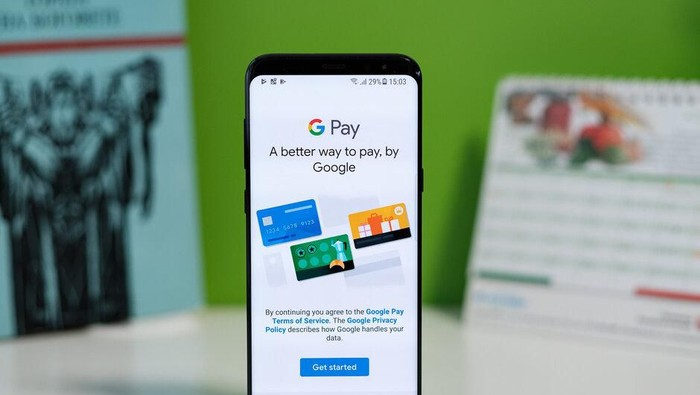 Google Pay. (Foto: istimewa)