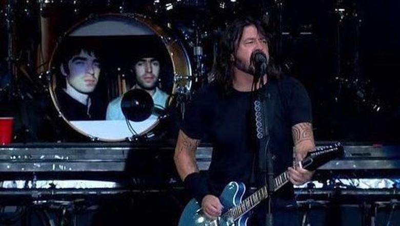 Foo Fighters dukung Oasis reunian Foto: Istimewa