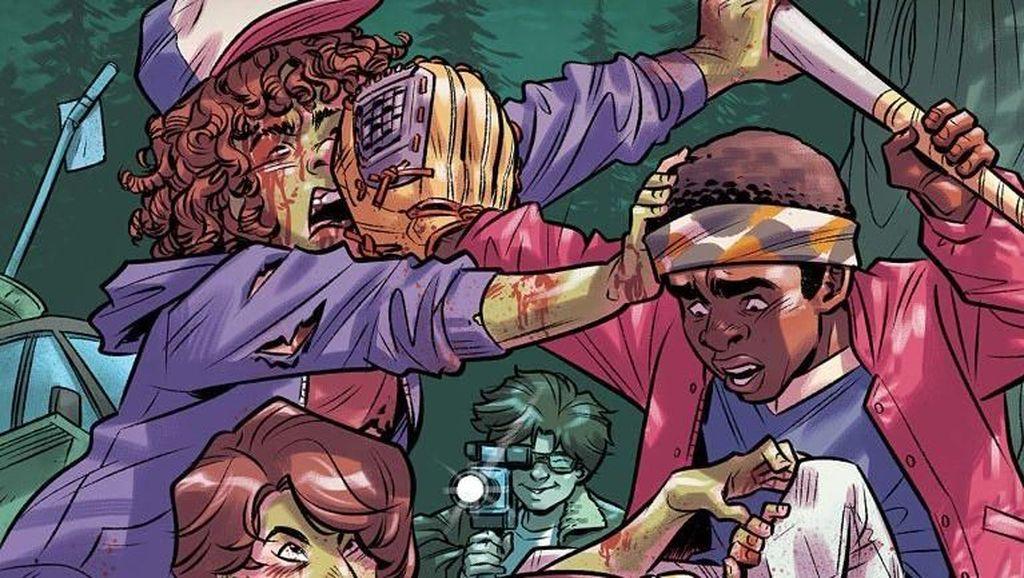 Novel Grafis Stranger Things Ceritakan Pengalaman Will Cs dan Zombie