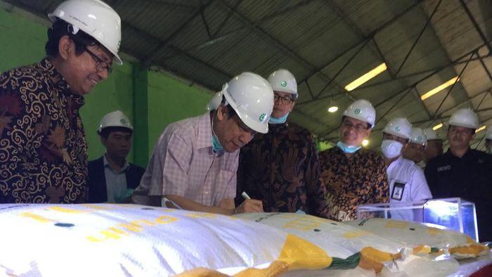 Kerja sama Indonesia-Laos/Foto: Enggran Eko Budianto/detikcom