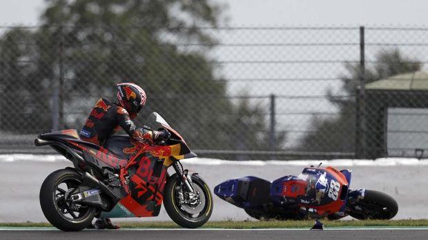 Johann Zarco terpuruk bersama KTM musim ini.