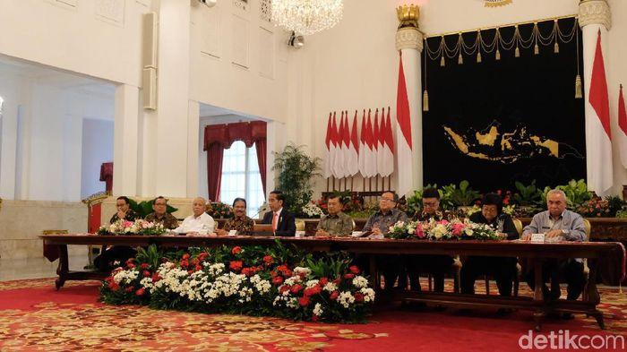 Foto: Joko Widodo (Jokowi) umumkan ibu kota baru (Andhika/detikcom)