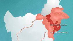 Gambaran Kutai Kartanegara yang Sebagian Wilayahnya Jadi Ibu Kota Baru