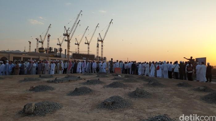 Pemakaman Baqi di Madinah. (Ardhi Suryadi/detikcom)