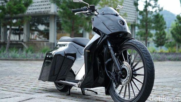 Wah, Honda PCX Dimodif ala Cafe Racer, Bagger dan Adventure