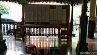 Ini adalah salah satu tempat belajar membuat batik. Berlokasi di Kelurahan Laweyan, Solo.(Tasya/detikcom)