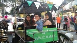 Menjajal Naik Grab Andong di Malioboro, Yogyakarta