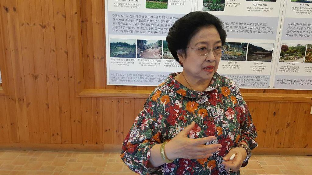 Bicara Pemindahan Ibu Kota, Ini Saran dan Masukan Megawati