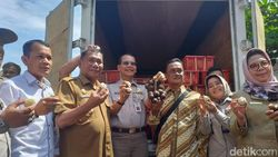 Salak Madu Deliserdang Go Internasional, 400 Kg Diekspor Perdana ke Thailand
