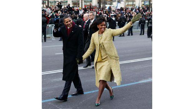 Gaun Michelle Obama yang dirancang Toledo