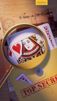 Misteri Ponsel Baru Realme Lewat Kartu Remi Gambar Ratu Hati