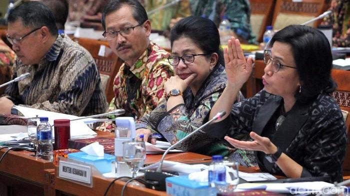 Menteri Keuangan Sri Mulyani mengusulkan iuran BPJS Kesehatan naik jadi Rp 160.000 (Foto: Lamhot Aritonang)
