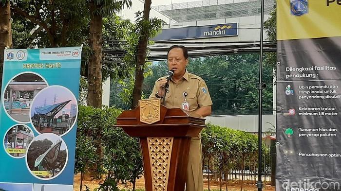 Kepala Dinas Bina Marga DKI, Hari Nugroho (Foto: Lisye Sri Rahayu/detikcom)