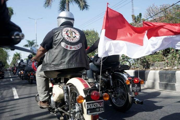 Serunya Jambore Internasional Royal Enfield di Bali