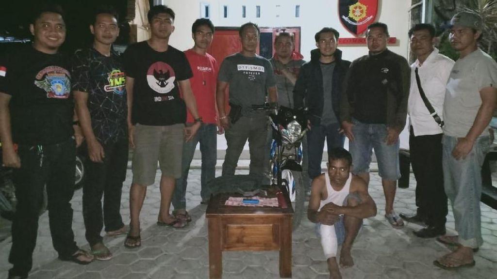 Melawan Saat Diamankan, Penjambret di Lombok Timur Ditembak Polisi
