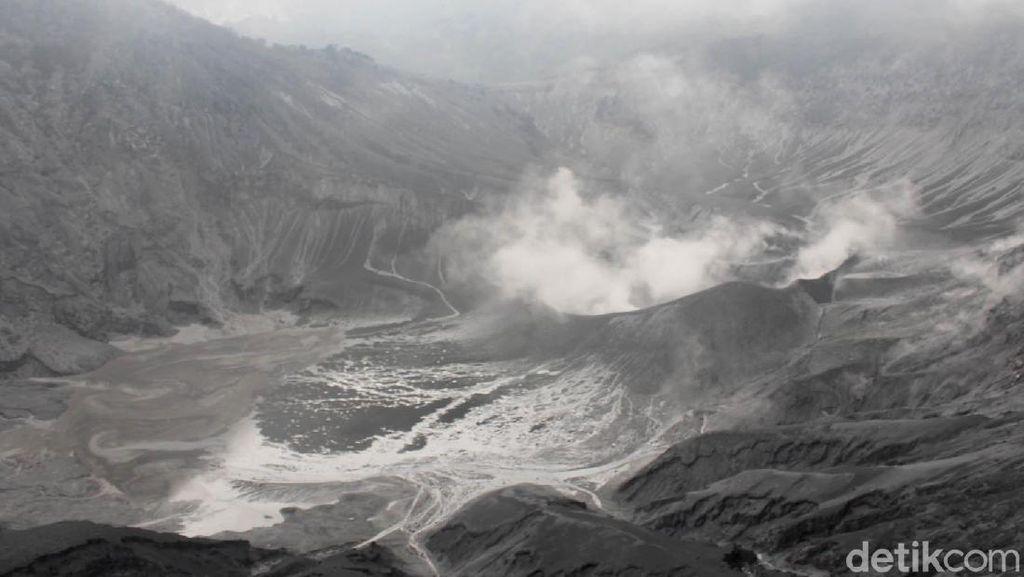 Dua Bulan Erupsi, Aktivitas Vulkanik Gunung Tangkuban Perahu Menurun