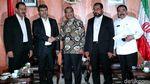 Wakil Ketua DPD Bertemu Wakil Iran Bahas Hubungan Bilateral