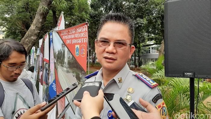 Foto: Kadishub DKI Jakarta Syafrin Liputo (Lisye/detikcom)