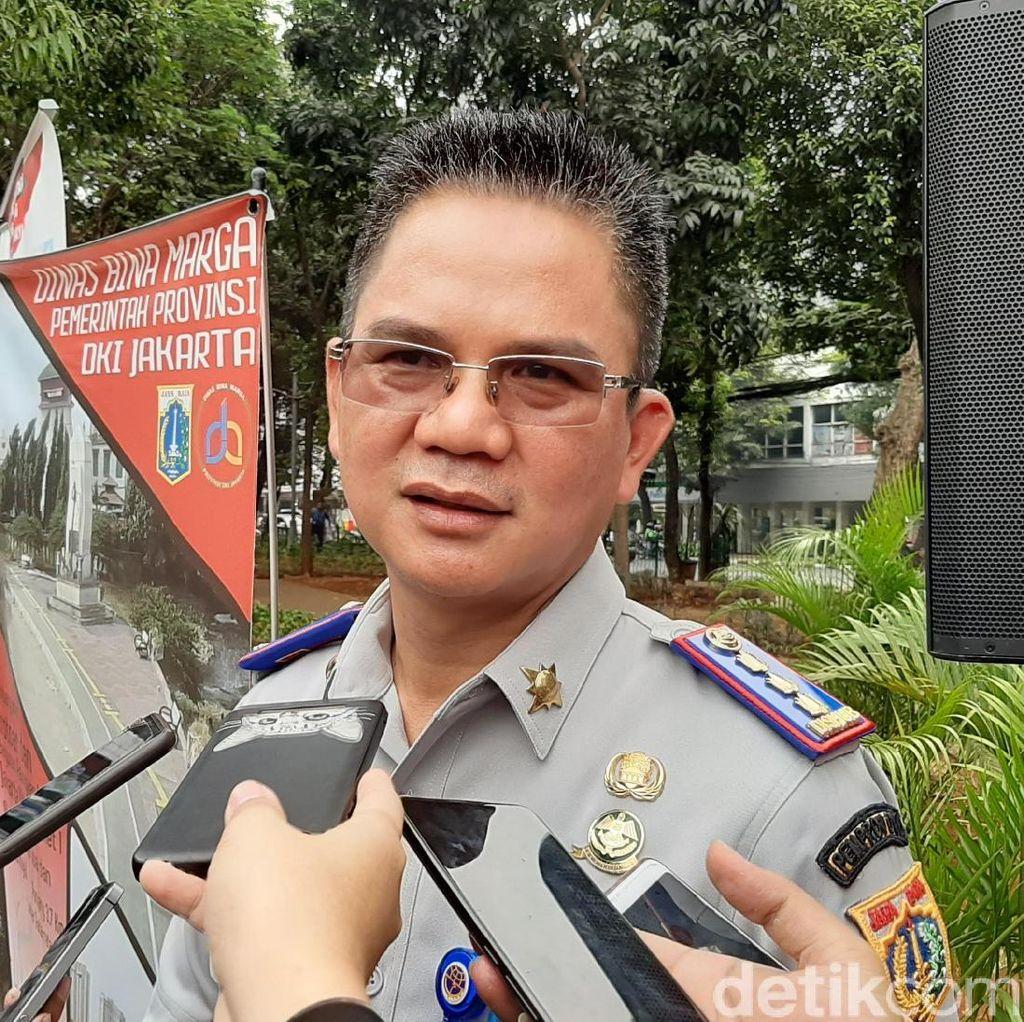 Pembatas U-turn Jalan Satrio Dibongkar Paksa, Dishub Kerahkan Petugas Jaga