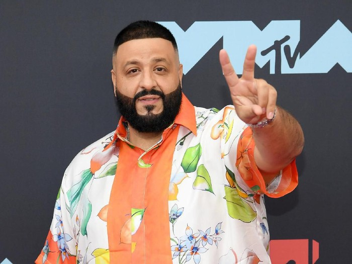 NEWARK, NEW JERSEY - AUGUST 26: DJ Khaled attends the 2019 MTV Video Music Awards at Prudential Center on August 26, 2019 in Newark, New Jersey. (Photo by Dimitrios Kambouris/Getty Images)
