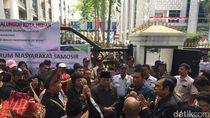 Warga dari 6 Kabupaten di Sumut Demo Minta Jalan Tol dan Flyover
