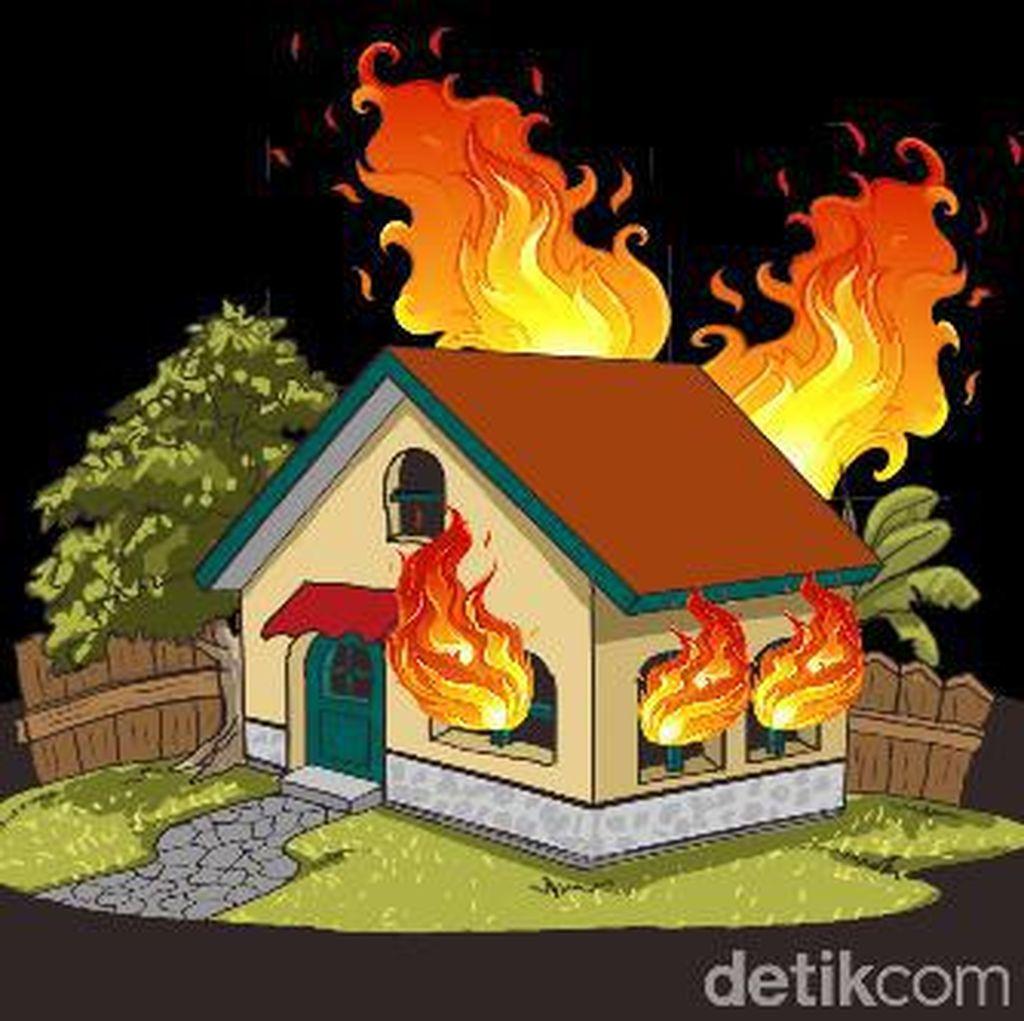 Rumah Tinggal di Kembangan Jakbar Terbakar, 15 Unit Damkar Dikerahkan