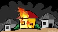 Rumah di Pademangan Jakut Terbakar, 7 Unit Mobil Damkar Dikerahkan