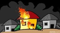 Kisah Tragis Seorang Bocah yang Tewas Terjebak Kebakaran di Tangsel