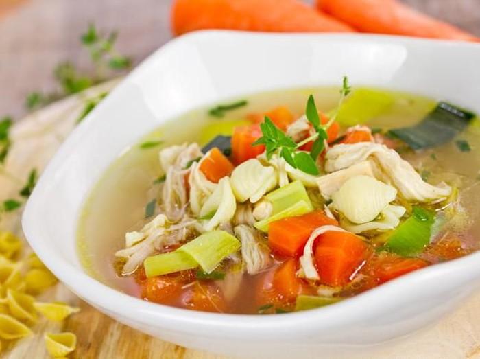 Sup Ayam Bisa Usir Flu Bukanlah Mitos