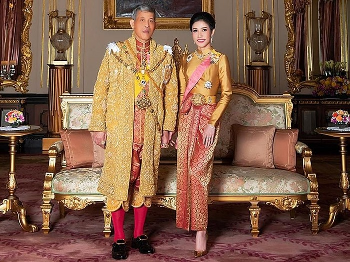 General Sineenat Wongvajirapakdi, the royal consort is seen in this undated handout photo obtained by Reuters, August 27, 2019. Thailands King Maha Vajiralongkorn has stripped his newly named royal consort Sineenat of her titles and military ranks for being