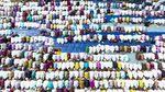 Ratusan Umat Muslim di Palembang Gelar Salat Minta Hujan