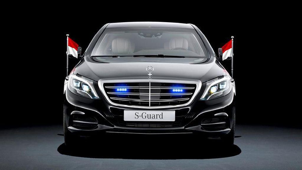 Mobil Mercy Baru Belum Temani Jokowi usai Pelantikan