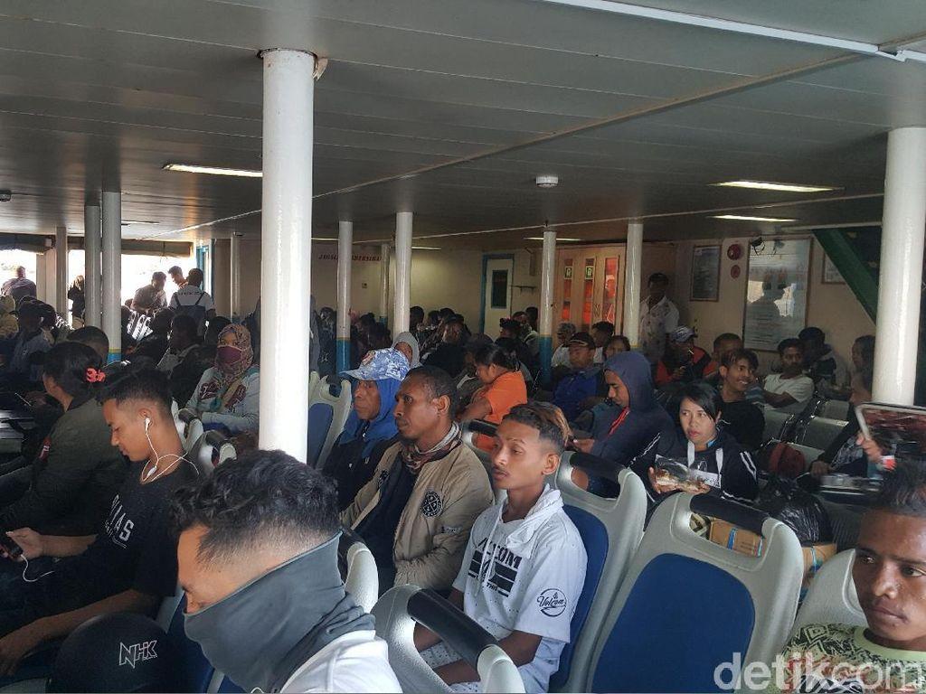 Foto: Kondisi Pelabuah Tol Laut di Kupang (Syanti Mustika/detikcom)