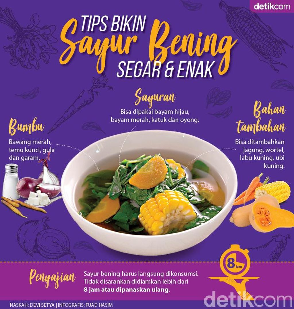 Tips Mudah Bikin Sayur Bening Enak dan Segar