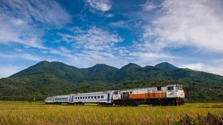 Foto: lustrasi kereta api (PT KAI/Istimewa)
