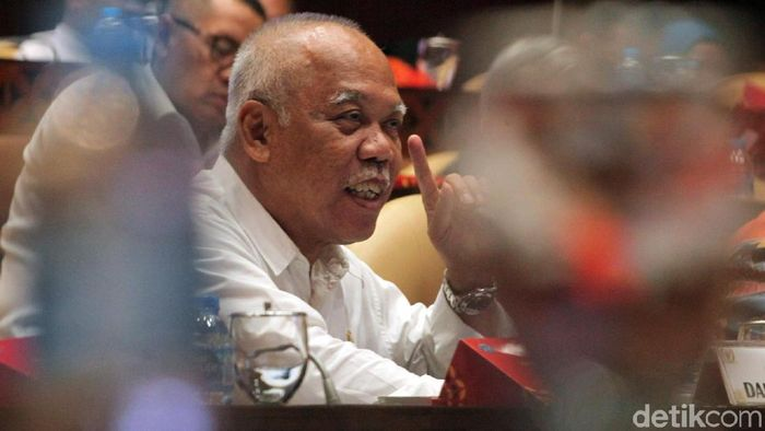 Menteri PUPR Basuki Hadimuljono Foto: Lamhot Aritonang