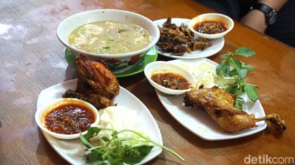 Sedapnya Soto Betawi dan Ayam Goreng RM Ibu Haji Cibubur