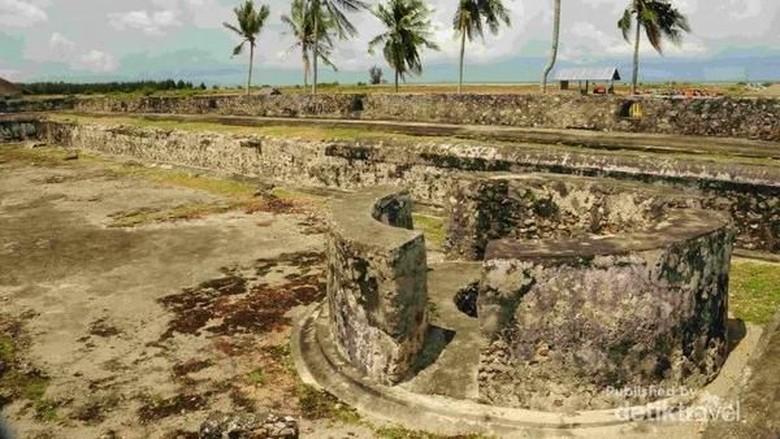 Benteng Sultan Iskandar Muda di Kerajaan Aceh/Foto: (Muchamad Irfan/dTraveler)