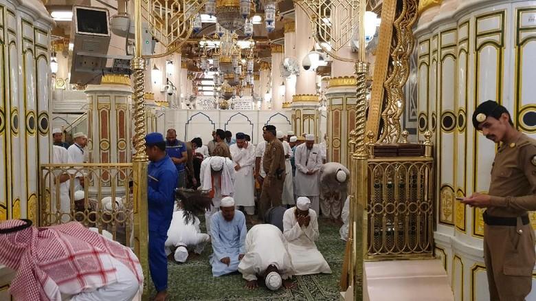 43.376 Jemaah Haji RI Sudah Masuk Madinah