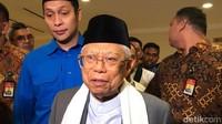 Jelang Pelantikan, Maruf Amin Tak Lakukan Persiapan Khusus