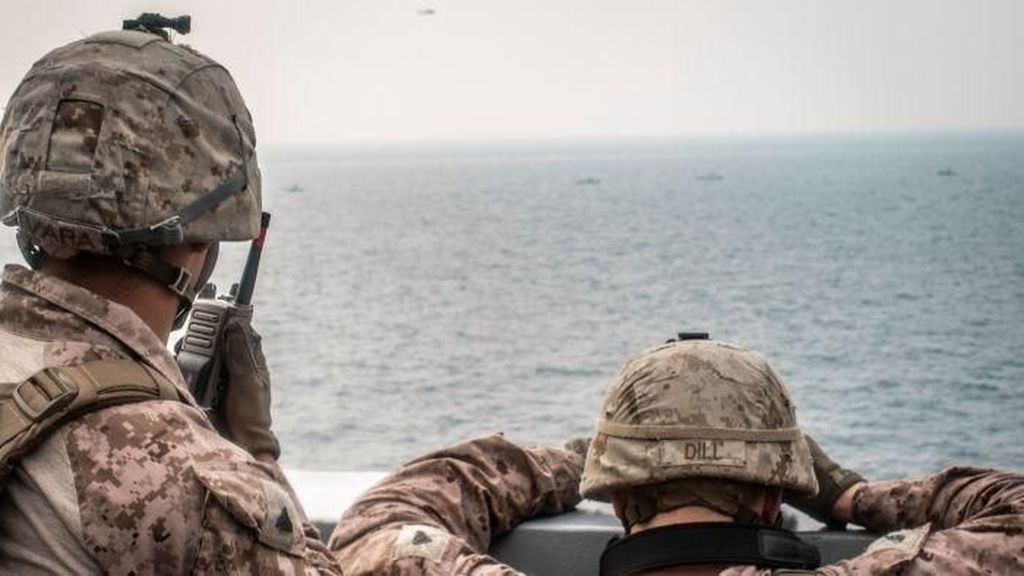 Amerika Serikat Rilis Video Iran Sita Kapal Tanker Berbendera Liberia