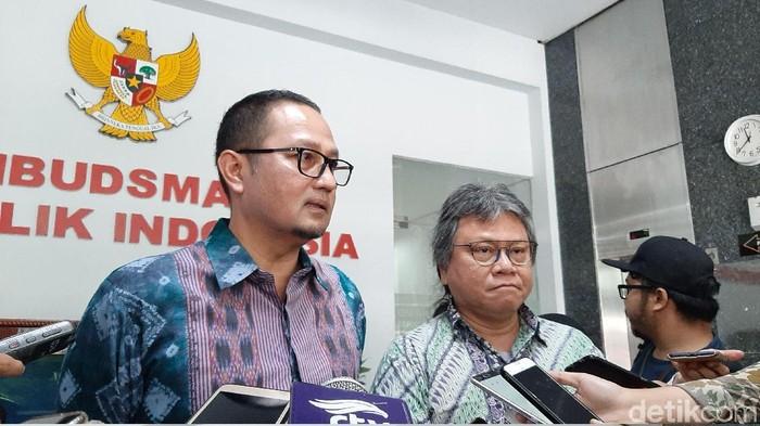 Foto: Pertemuan Ombudsman RI dan Kominfo (Lisye/detikcom)