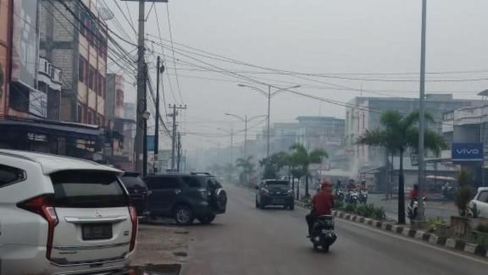 Potret Kota Dumai pagi ini (Foto: Chaidir Anwar Tanjung/detikcom)
