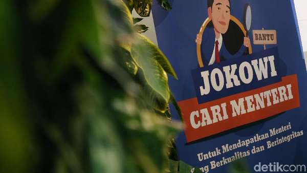 Penting! Ini Calon Menteri Pilihan detikers Bantu Jokowi Cari Menteri