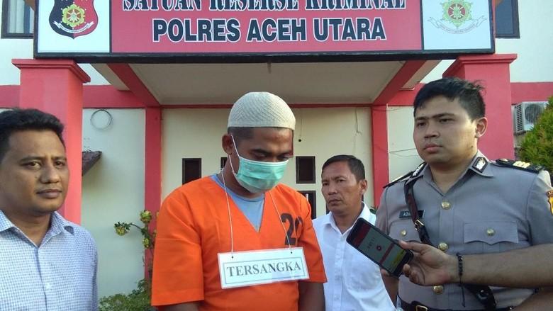 Polisi Tangkap Pelaku Pencabulan Remaja di Aceh Utara